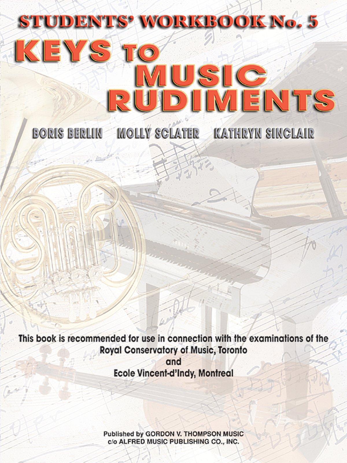 Keys to Music Rudiments: Students' Workbook No. 5 pdf