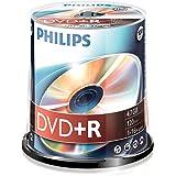 Philips Dvd+r 4.7GB - Confezione da 100