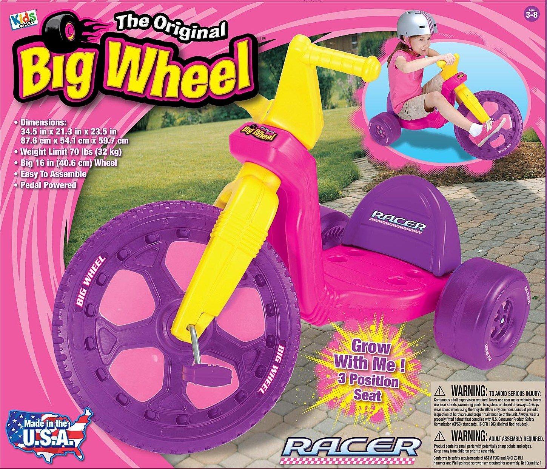 ''The Original Big Wheel'' - 16'' Big Wheel Racer - Pink