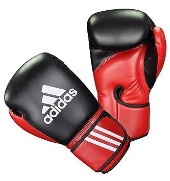 ea45da409c adidas Sac de Sport Combat Sports Gants de Boxe Multicolore  Noir/Rouge/Blanc 12