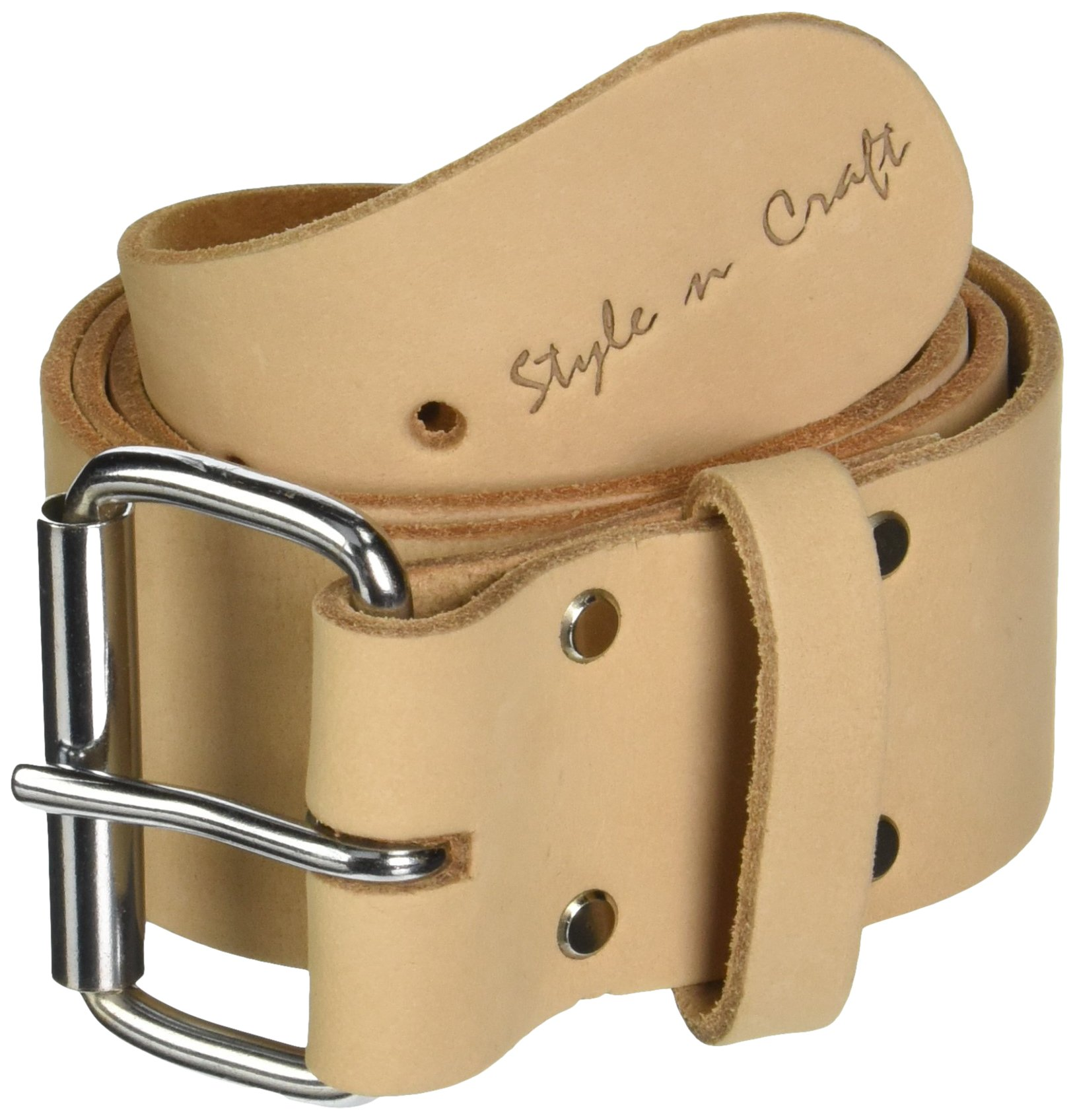 Style n Craft 94-050 Top Grain Leather Tool Work Belt