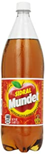 Sidral Mundet Apple Soda, 1.5 Liter Bottle
