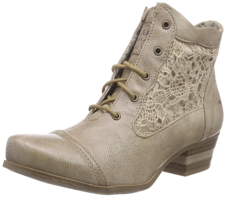 Braun (318 Taupe) Taupe) Taupe) MUSTANG Damen 1187-501 Combat Stiefel  weltberühmter Online-Verkauf