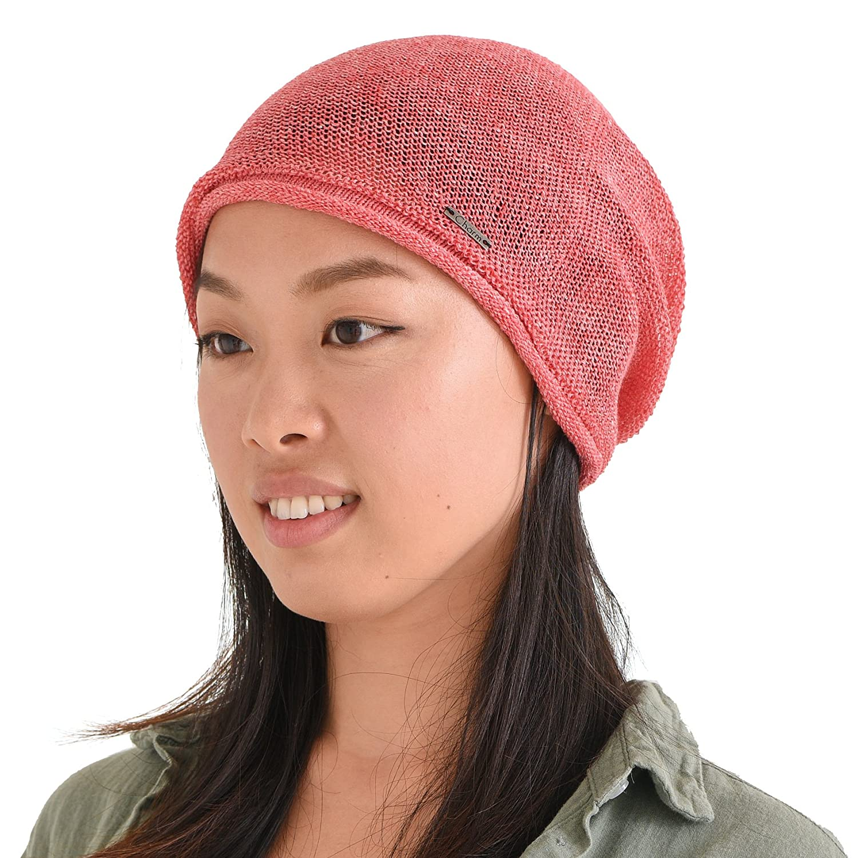 CHARM Casualbox   Hemp Summer Beanie Slouchy Cooling Knit Hat Unisex Men Women 4589777968974