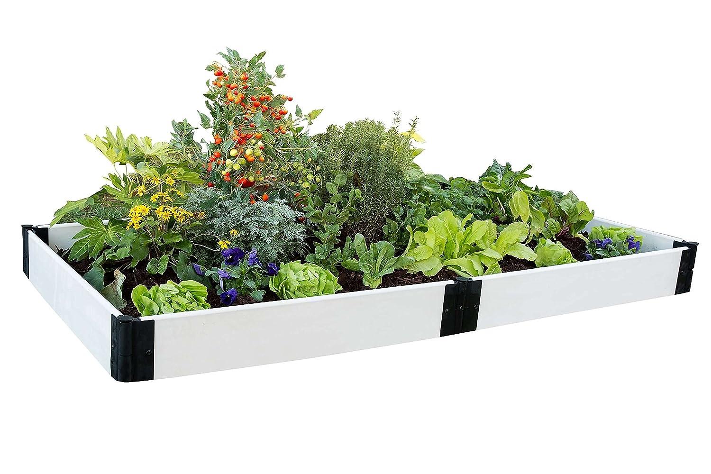 Contech Kit en relieve Garden, 4 by 20, 32 cm, blanco: Amazon.es ...