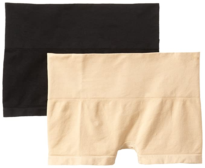 6508e375564c6 Heavenly Shapewear Women s Seamless 2 Pack Boy Short Panty