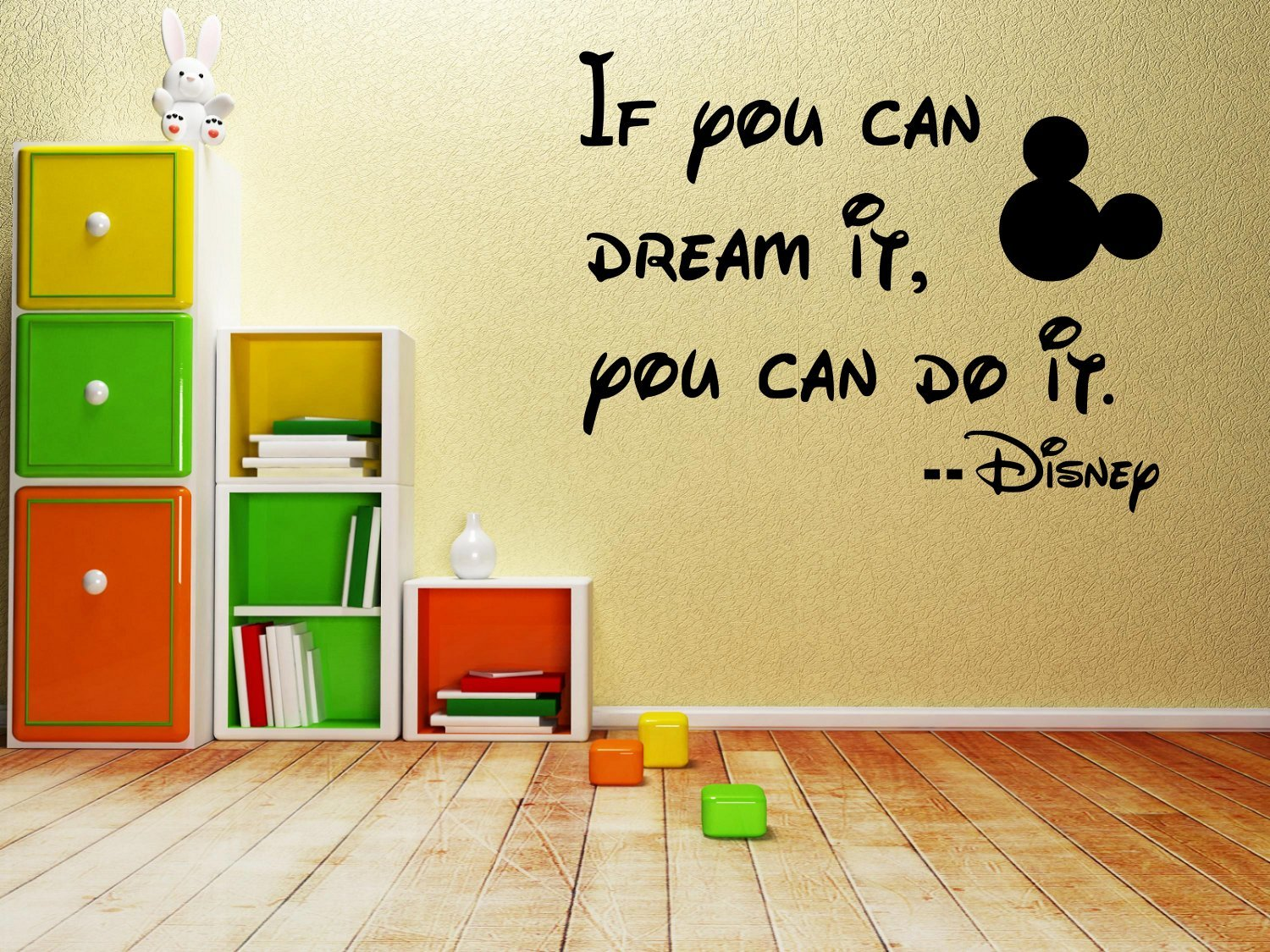 Amazon.com: If you can dream it, you can do it -Wall-decal- 14\