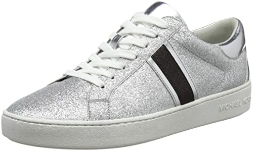 Michael Kors Keaton Stripe Sneaker, Zapatillas para Mujer: Amazon.es: Zapatos y complementos