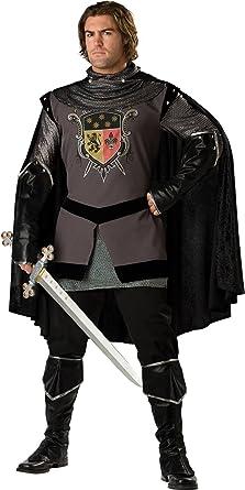 InCharacter Costumes Men\u0027s Dark Knight Adult Costume, Gray/Black, Medium