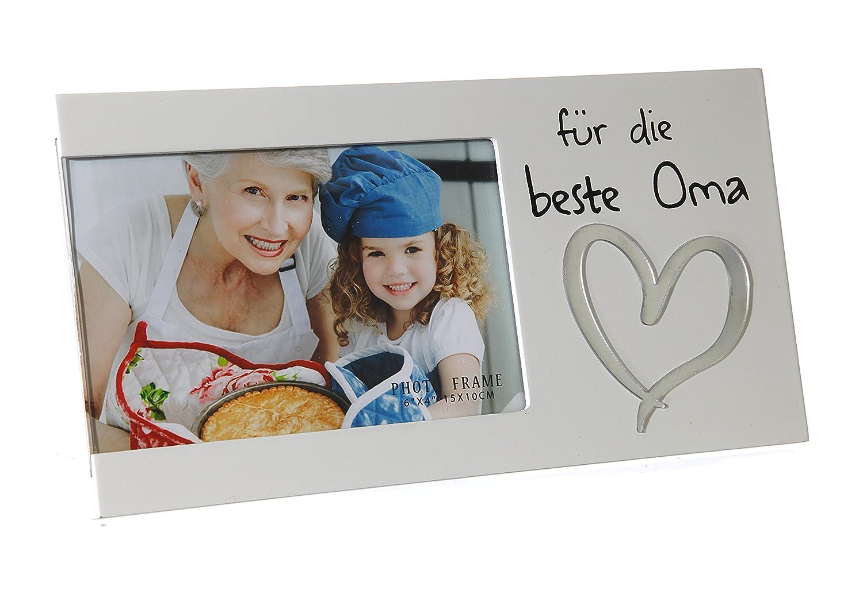 Bilderrahmen für ein Foto mit Spruch - Für die beste Oma: Amazon.de ...