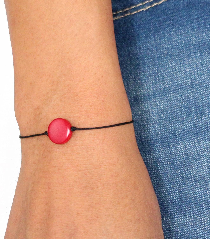 Tagua Friendship Bracelet Red