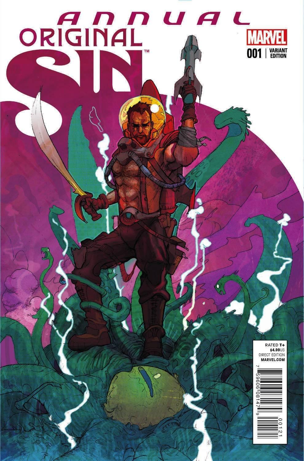 2014 Jason Latour Original Sin Annual No.1
