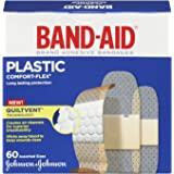Band-Aid Plastic Comfort-Flex Assorted Strips Bandage Family Pack