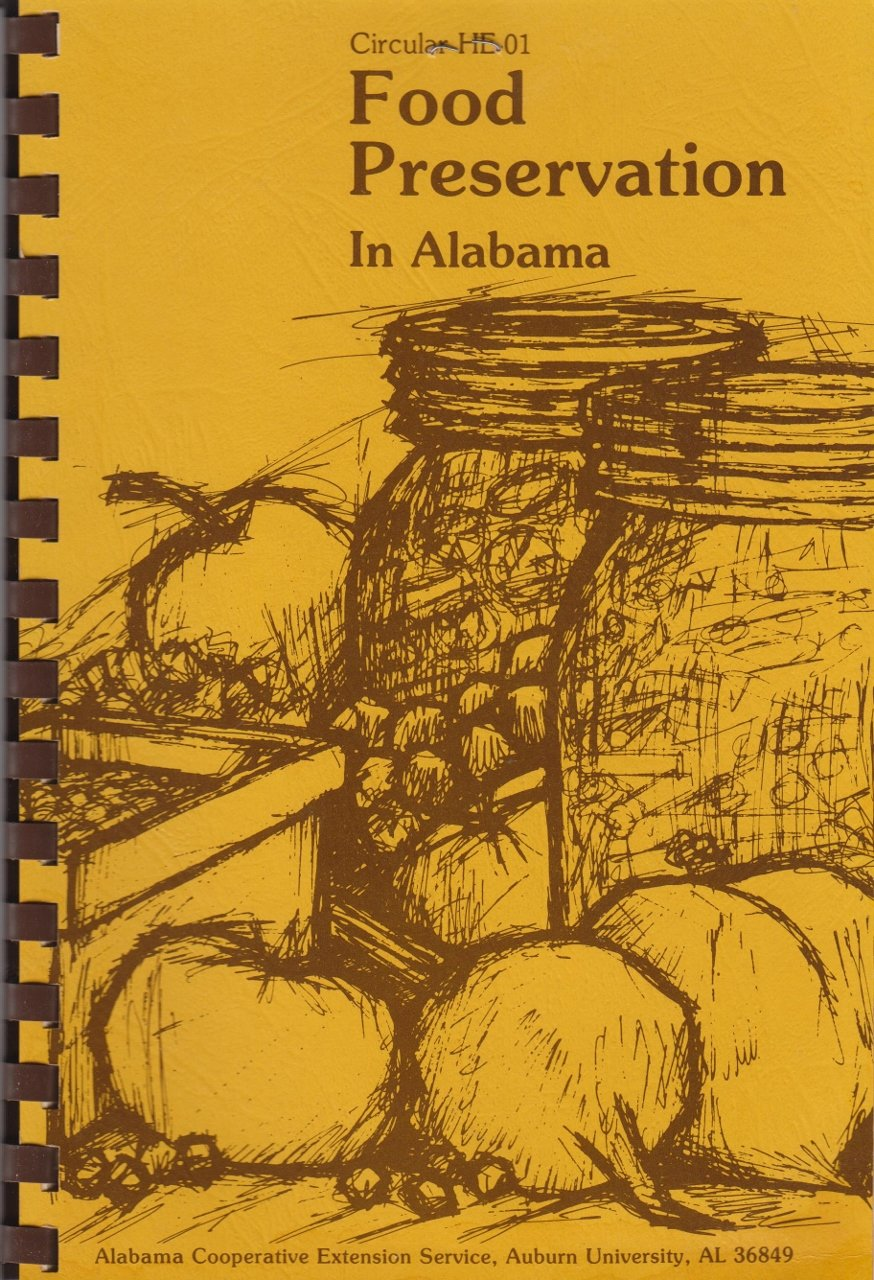 Food Preservation in Alabama, Circular HE-01, Evelyn F. Crayton