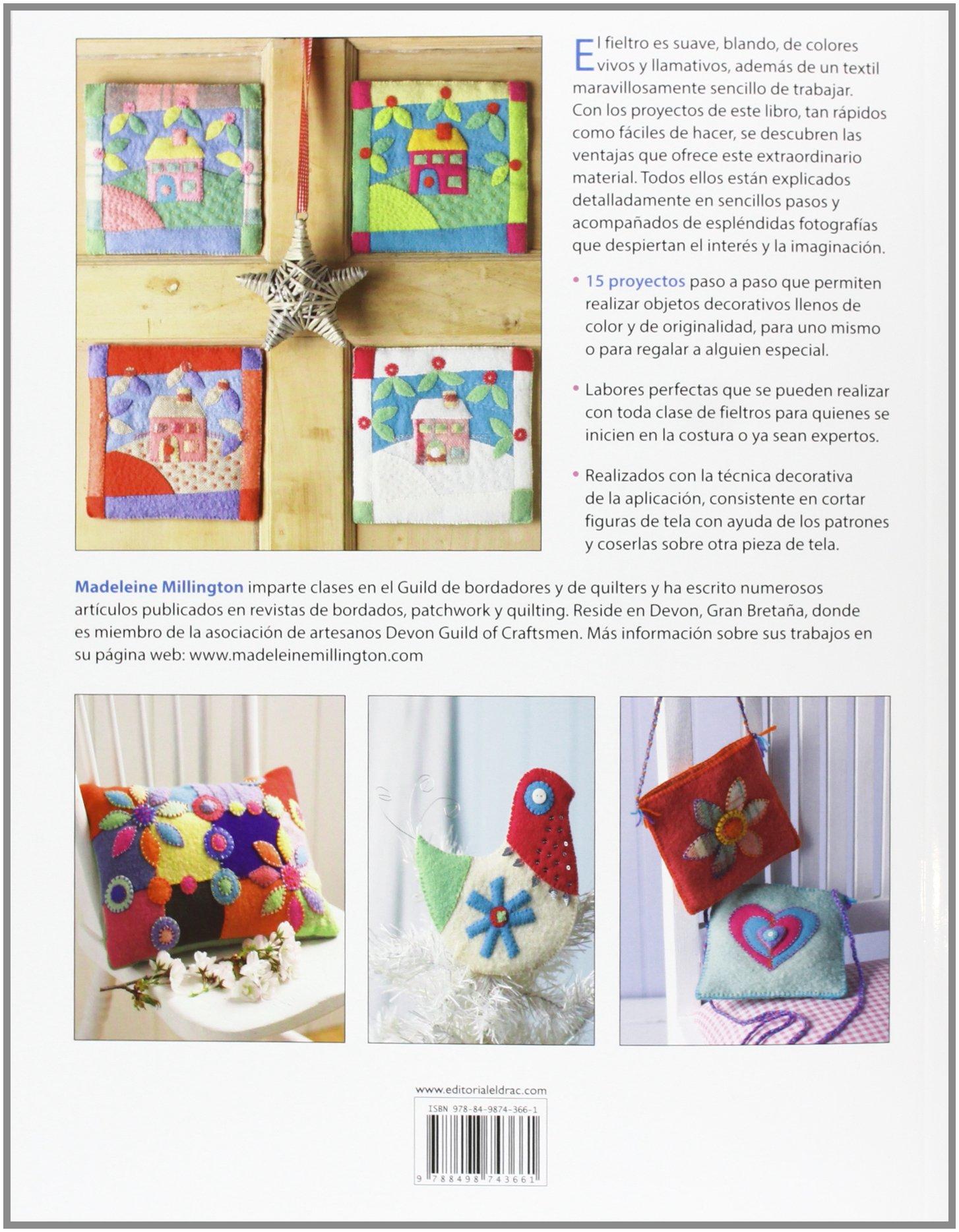 Adornos para decorar la casa con fieltro: Amazon.es: Diego Redolar Ripoll: Libros