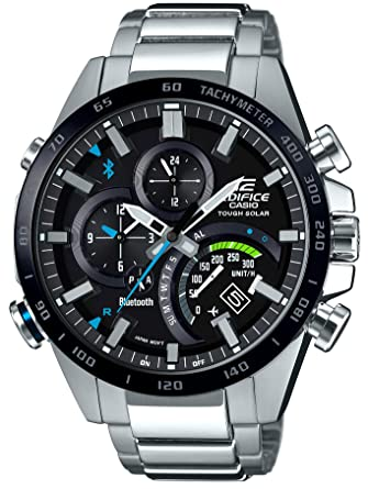 f270712866a3 Amazon.com  Casio (EDIFICE)「TIME TRAVELLER」EQB-501XDB-1AJF-(Japan Import-No  Warranty)  Watches