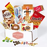 European Snack Mix Package by WorldWideTreats - Snacks from Poland, Greece, Spain, Italy and More