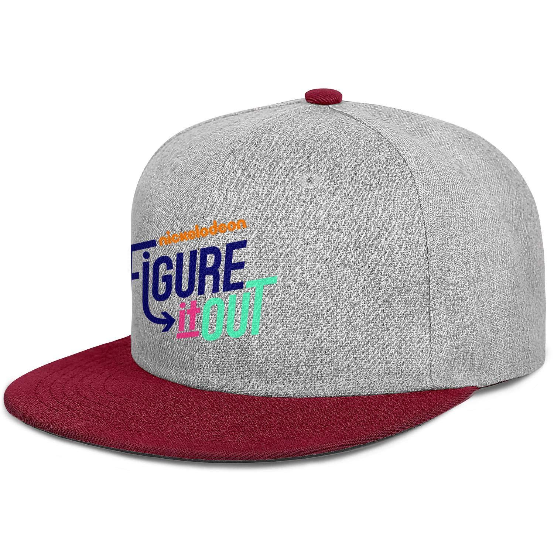Mens Baseball Caps Stylish Womens 80s Hip Hop Caps Fashion Snapback for Men KaBlam!-pagejpg