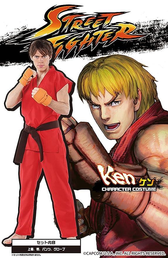 Street Fighter traje oficial de Ken de los hombres del traje ...