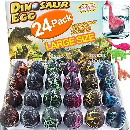 1 Pc Large-sized Black Dinosaur Egg Hatching Toy Dino Growing Kids Gifts