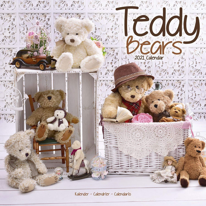 Teddy Bear Calendar   Calendars 2020   2021 Wall Calendars   Doll