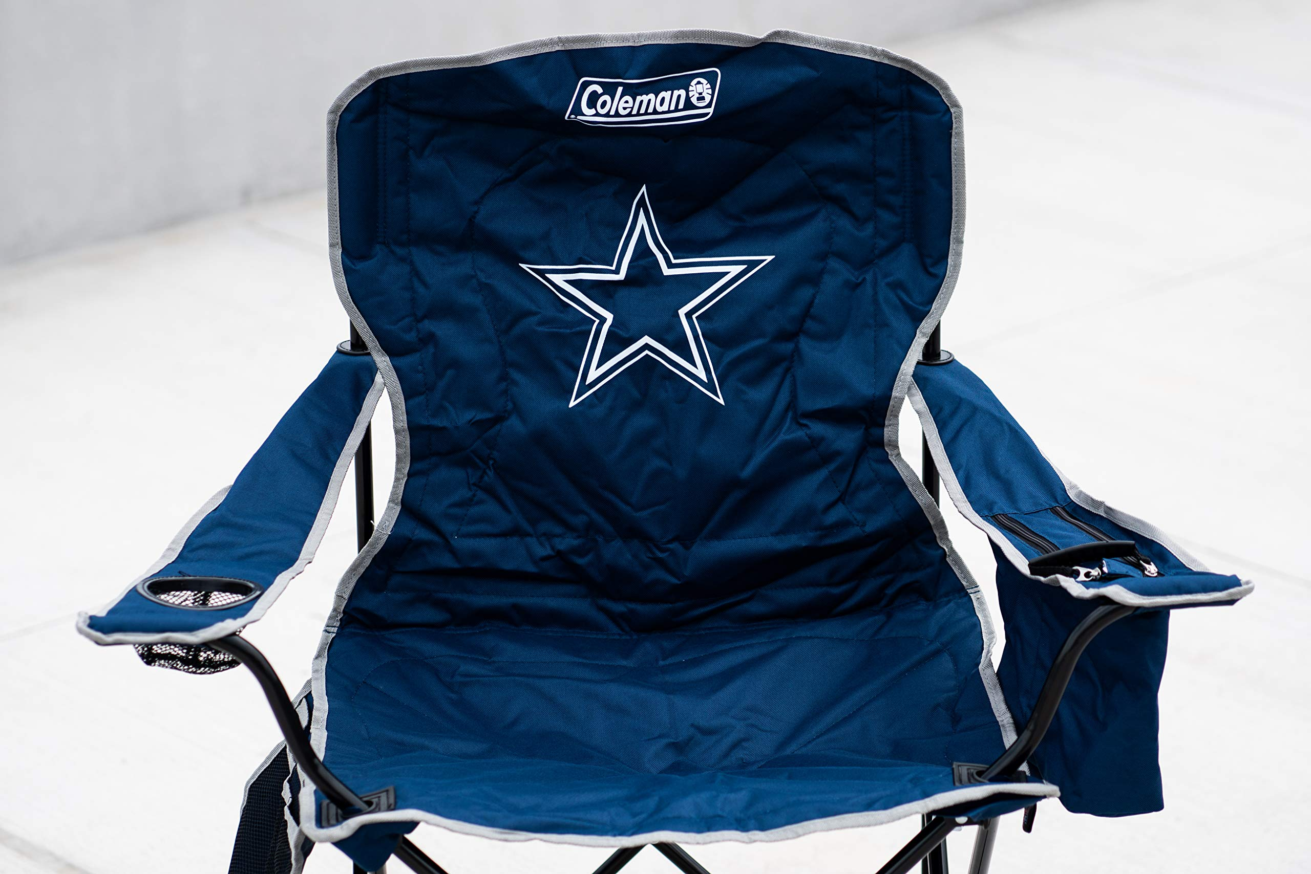 NFL Portable Folding Chair with Cooler and Carrying