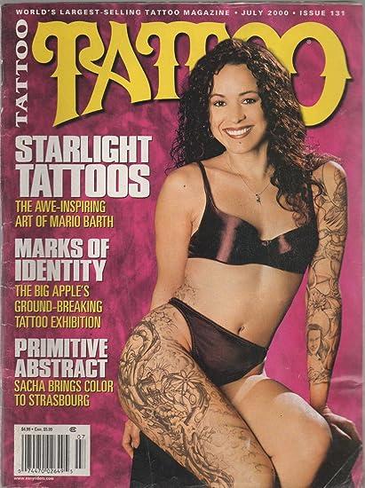 Amazon.com : Tattoo Magazine, no. 131 (July 2000) (Mario Barth\'s ...