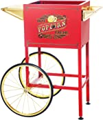 6403 Red Replacement Cart for Larger Princeton Style Great Northern Popcorn