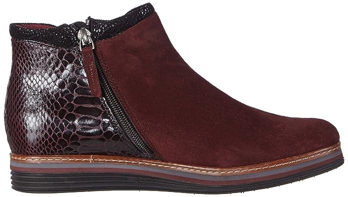 Bordeaux 549 Tamaris 25055 Damen Chelsea Boots Mehrfarbig 1