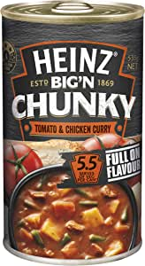 Heinz Big 'N Chunky Tomato and Chicken Curry Canned Soup, 535g