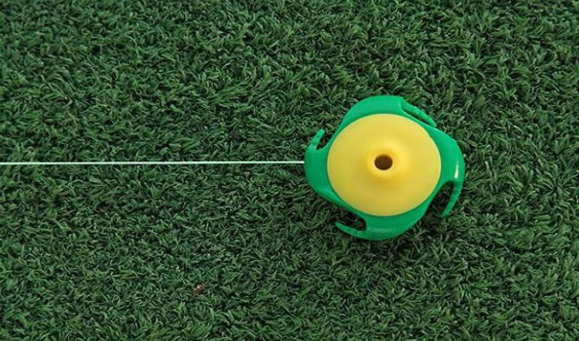 ProActive Sports Tee Claw Artificial Grass Mat Real Tee Holder & Alignment Training Aid by ProActive Sports (Image #3)