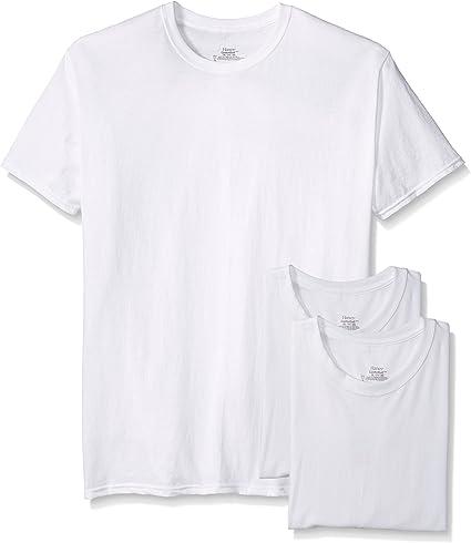 """NIB Men/'s L 42-44/"""" Hanes Ecru ClassicThermal  LS Crew Neck Shirt"""