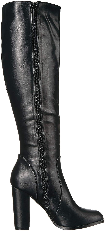 Michael Antonio Womens Izzie-pu Knee High Boot 8.5 M US Black