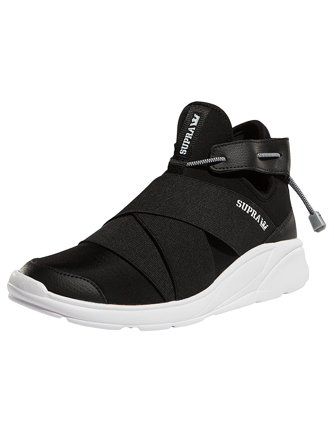Supra Women's Anevay Shoes B074KHWDF2 6.5 M US|Black-white