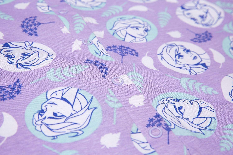 Disney Pijama para niñas de 3 a 12 años de edad, diseño de Anna Elsa Olaf