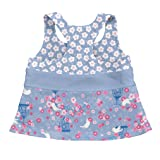 i play. Girls' Two-Piece Bow Tankini with Snap