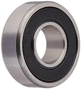 Ten (10) R6-2RS Sealed Bearings 3/8 x 7/8 x 9/32 Ball Bearings/Pre-Lubricated (Pack of 10)