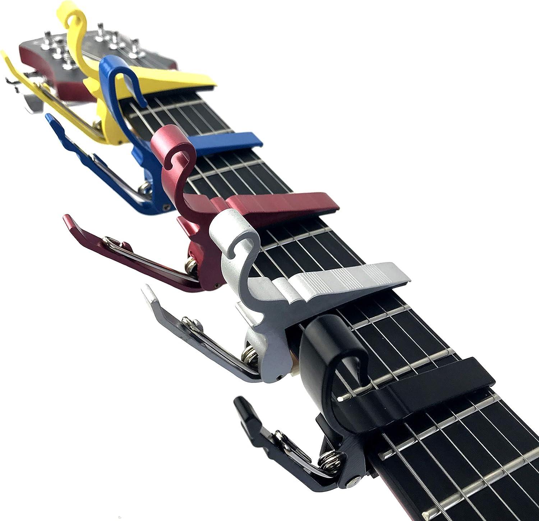 Groove Cejilla de cambio rápido para guitarras eléctricas y ...