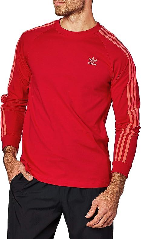 adidas BLC 3-S LS T Camiseta de Manga Larga: Amazon.es: Deportes y ...