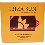 Organic Self Tanner Natural Ingredients Sunless Tanning Wipes for Face & Body - Skin Friendly - Self Tanning Towelettes…