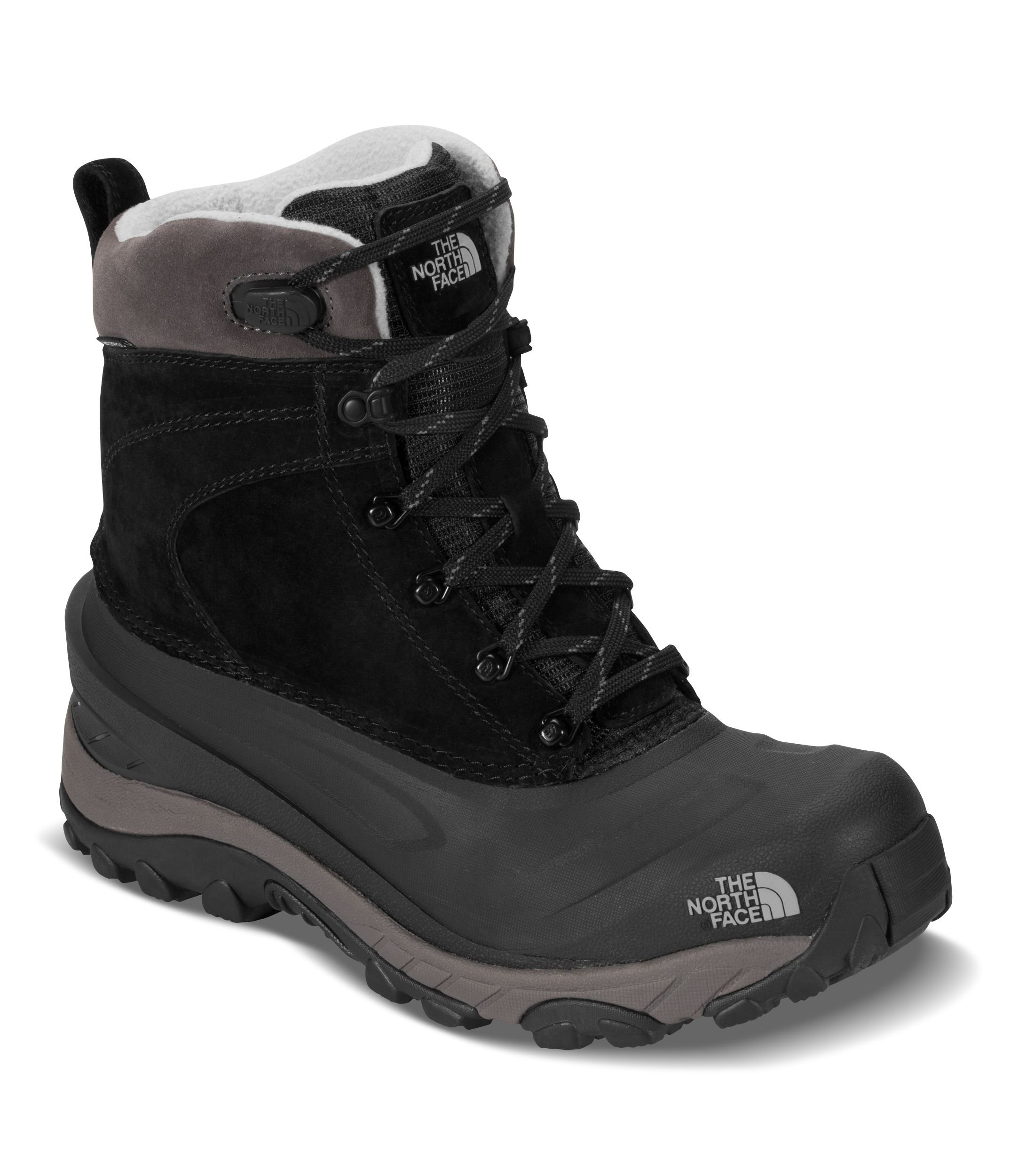 The North Face Men's Chilkat III - TNF Black & Dark Gull Grey - 11 by The North Face