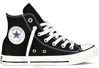 a15355d048bc Image Unavailable. Image not available for. Color  Converse Chuck Taylor Hi  Top Black Shoes M9160 Mens 10.5