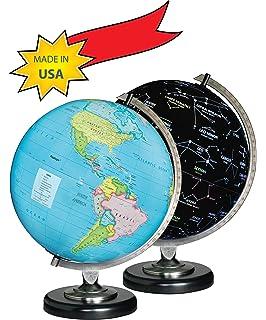 Amazon Com Edu Toys Night N Day Mechanical Globe Toys Games