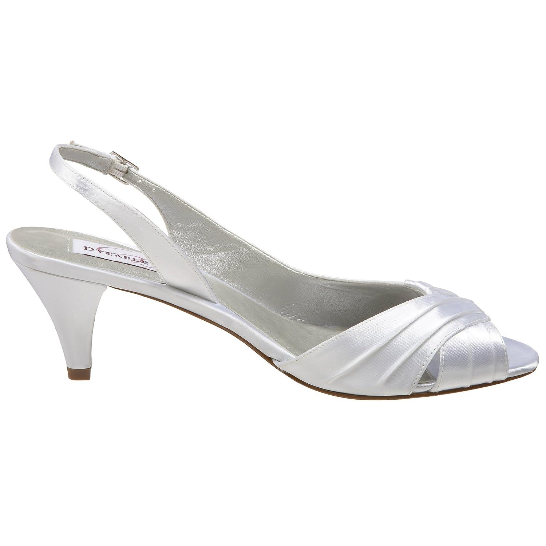 Dyeables Women's Nicky Sandal B001JAHJ86 8 B(M) US White