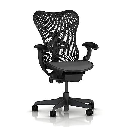 Amazon.com: Mirra Chair by Herman Miller: Basic - Pneumatic Lift ...