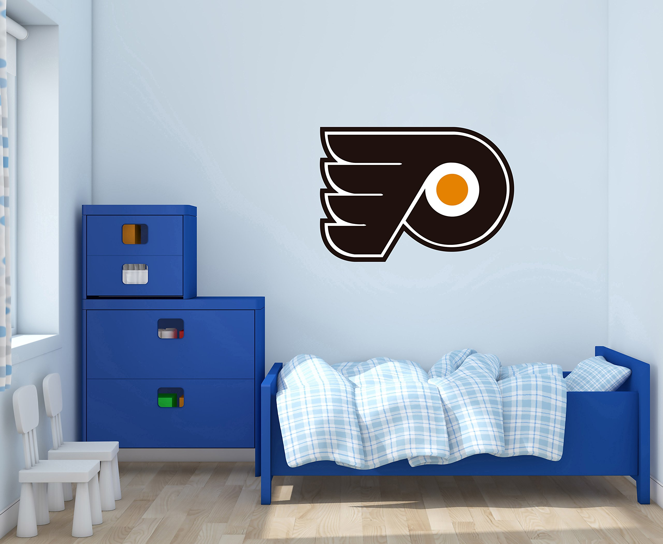 Phillies Flyers - Wall Decal for Home Bedroom Decoration (Wide 30''x21'' Height Inches)