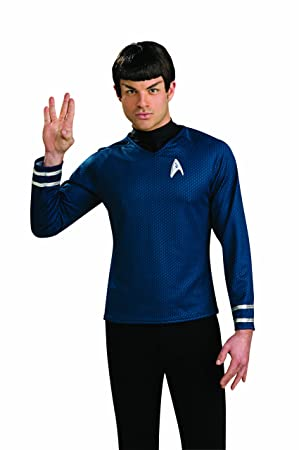 Rubies - Peluca de Spock de Star Trek para Adulto (Talla ...