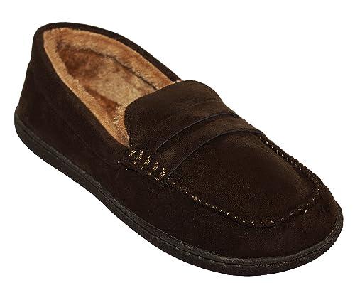 Pantofole invernali da uomo comode 01184d0fb07