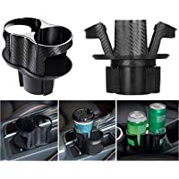 Huzz 2 - in - 1 auto Cup holder Expansor Adapter, multi - function car Cup holder Bottom adjustable, Drink bottle Water…