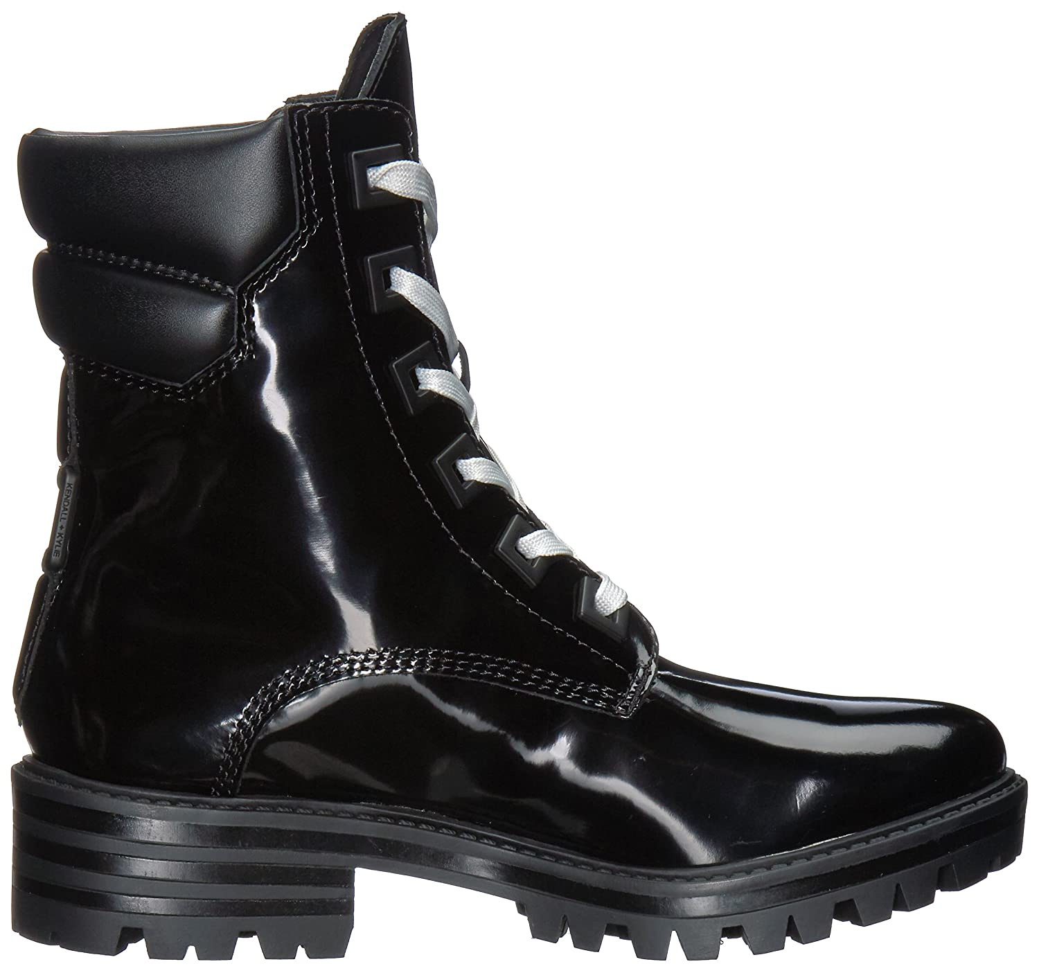 f051c6df6df Amazon.com: KENDALL + KYLIE Women's East Combat Boot: Shoes